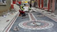 Dinarımızın sokakları renkli görünüme kavuşmaya devam ediyor