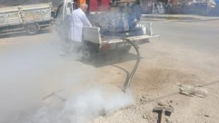 Belediyemiz tarafından Kanalizasyon İlaçlamaları yapılıyor
