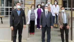 Dinar da Aşı Denetimleri Yapıldı
