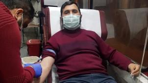 Din görevlileri Kan bağışında bulundu