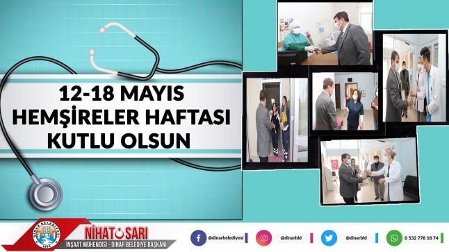 Belediye Başkanımız Nihat Sarı'dan Hemşireler Haftası Mesajı