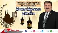 Belediye Başkanımız Nihat Sarı'dan Ramazan Bayramı mesajı