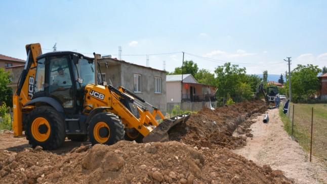 Belediyemiz alt yapı çalışmalarına aralıksız devam ediyor