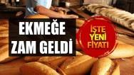 Dinar'da Ekmeğe Zam Geldi