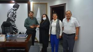 Başkan Sarı, Dinar Kadın Kültür Evi'nin talep ve isteklerini dinledi