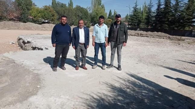 Tatarlı'ya İlk Okul Yapılıyor