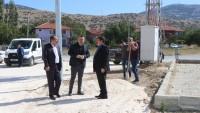 İncirli mahallemize yeni açılan yolda sıcak asfalt öncesi hazırlıklar yapılıyor