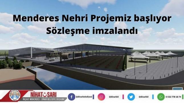 Başkan Sarı, Menderes Nehri Projemiz başlıyor