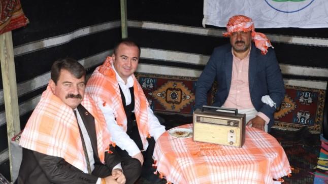 Başkan Sarı, Gastro Afyon 3. Turizm ve Lezzet Festivalinde