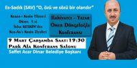 DÖNGELOĞLU 9 MART ÇARŞAMBA DİNAR'DA