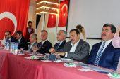 Bakan Eroğlu Dinar'da Bayramlaştı