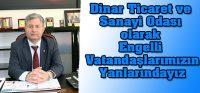 Dinar TSO 3 Aralık Dünya Engelliler Günü Mesajı Yayımladı