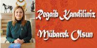 CHP Millletvekili Köksal'dan Regaip Kandili Mesajı