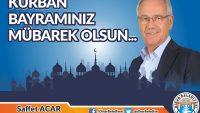 Başkan Acar'dan Kurban Bayramı Mesajı