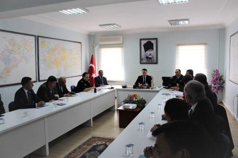 Dinar'da Yasa Dışı Kenevir Ekimi Toplantısı Yapıldı