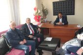 Evciler Belediye Başkanı Saim Özer Umut Haberi Ziyaret Etti