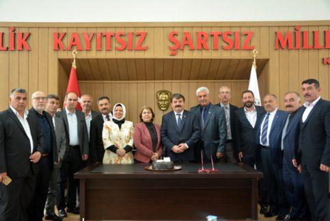 Belediye Başkanı Nihat Sarı İlk Meclis Toplantısını Yaptı
