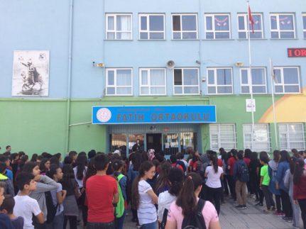 Fatih Ortaokulunda Fetih Programı
